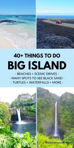 Here's a list of great things to do on the Big Island for a trip to Kona Hawaii - US vacation places