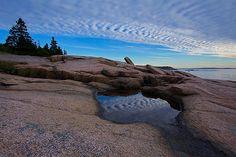 Title  Clouds Above And Below   Artist  Stuart Litoff   Medium  Photograph - Photograph