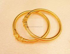 Bangles / Kada - Gold Bangles / Kada (BG37963796) at USD 1,859.23 And EURO 1,649.12