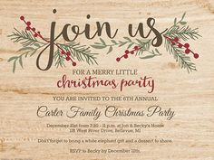 free printable christmas invitations Having a party in a hat is very easy and fun. Organize a Christmas party at your home, you will certainly prepare an Free Christmas Invitation Templates, Christmas Dinner Invitation, Ward Christmas Party, Christmas Party Invitations, Christmas Templates, Free Christmas Printables, Printable Invitations, Christmas Adam, Dinner Invitations