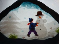 Maybe use this technique for peter pans map Advent Activities, Winter Activities, Winter Christmas, Christmas Crafts, Paper Art, Paper Crafts, Christmas Window Display, Waldorf Crafts, Egg Carton Crafts
