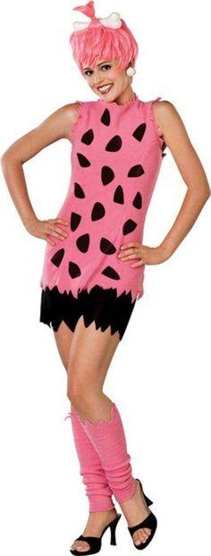 Pebbles Flintstone Halloween Costume, Flintstones Costume, Costumes For Teens, Baby Costumes, Adult Costumes, 1950s Costumes, Funny Costumes, Pink Costume, Costume Shop