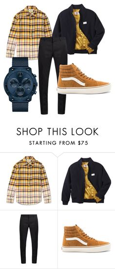 """Sin título #2"" by joaquin-cestona on Polyvore featuring Remi Relief, Twins For Peace, Lanvin, Vans, Movado, men's fashion y menswear"