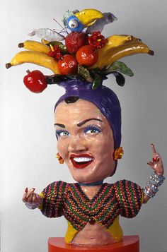 """Escultura Tony Natsoulas """"de Carmen Miranda"""