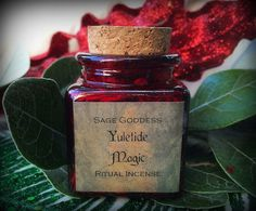 Yuletide Magic Ritual Incense to welcome Winter by TheSageGoddess, $18.00