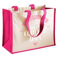 Oma Gift, Oma Birthday Bag, Personalised Oma Gift, Oma Present, Oma Bag, Great Oma Gifts, Oma Funny Gifts, Oma Gifts From Daughter, Oma Keepsake, Tote, Shopping Bag