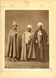 Folk Costumes in the Century: 74 Rare and Amazing Vintage Photos Show Ottoman Clothing in 1873 Folk Costume, Costumes, Syrian Jews, 1 Century, Ottoman Turks, Court Dresses, Bnf, Vintage Photos, Christianity