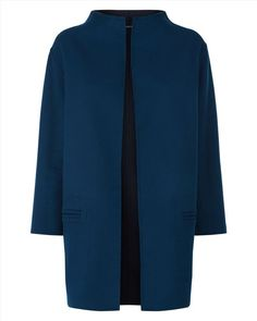 Wool Reversible Duster Coat - null - Main Product Image