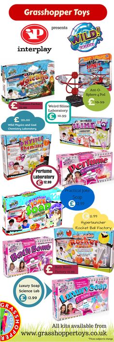 Check out the Interplay #science kits we stock! #ScienceForKids #infographic