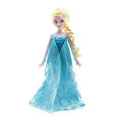 Elsa / Frozen - Eiskönigin Puppe - original Disney