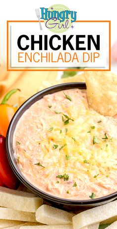 Healthy Chicken Enchilada Dip Recipe | Hungry Girl