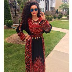 Traditional Palestinian thobe (dress)