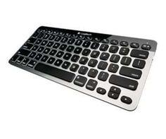 920-004274 - Logitech Easy-Switch Bluetooth - näppäimistö - Pohjoismainen - hopea