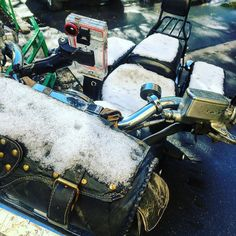 #motosport #motorcycles #moscow #snow #happyspring