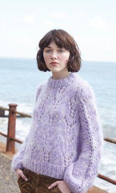 Lilac Jumper Plumo.com