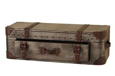 Koffer Regal mit Schublade