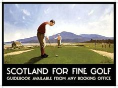 "Scotland Golf Metal Sign: Sportsman Decor Wall Accent by OMSC. $15.49. Ships in Ploy-bag for complete protection. Rounded corners with holes for easy hanging. This sign measures 16"" x 12"" (400 mm x 300 mm). Eco-friendly process, hand-made in the USA. Glossy, full-color, enamalized imaged baked onto thick, 24-gauge steel. The ""Scotland Golf Metal Sign"" is hand-made in America. These sturdy metal signs will perfectly accent any kitchen, home, bar, pub, game room, office or garag..."