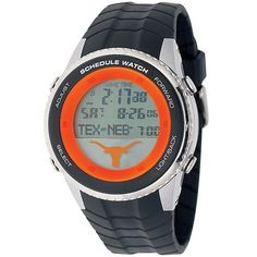 University of Texas Longhorns Mens Schedule Wrist Watch