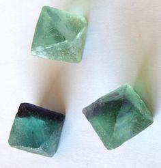 Minerales que curan, Octaedros de fluorita
