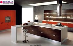 Europlak's Pratico is an elegant solution for a utilitarian & economical kitchen that is also low on maintenance. Designed using the finest Italian expertise an innovations to give modern look.  Europlak's Pratico is available in more than 40 color options to suit your style and taste.