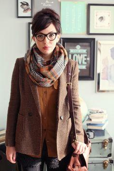 veste et foulard