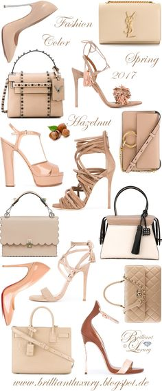 Brilliant Luxury by Emmy DE ♦ Fashion Color Spring 2017 ~ hazelnut