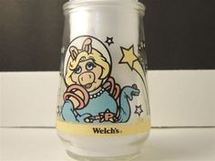 Kitchen - KCHN00149 - Collectable Welch's jelly jar - Muppets Miss Piggy