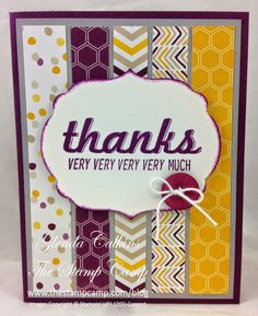 Try Stampin' On Tuesday, Maybe baby shower invite?