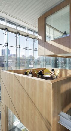 Gallery Of Telus Garden Office Mcfarlane Biggar Architects Designers Inc