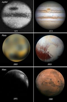 Space imaging; amazing how far technology has come to where the stars and cosmos are within a glance .