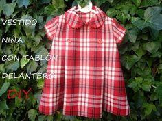 Vestido niña con tablón delantero: DIY - Patronesmujer: Blog de costura, patrones y telas.