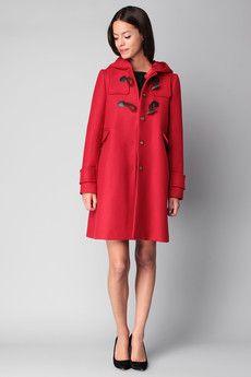 Tara Jarmon -  - Mid coat - 3300-m0736 - Red / Orange
