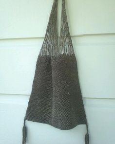 15 OFF SALE 1970s macrame/mesh style purse by ArieleSierraDesigns, $8.99