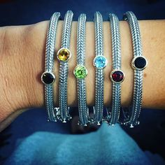 Which gemstone bangle is next on your holiday wish list? #sterlingsilver #sterlingsilverjewelry #jewelry #gemstone #bangle #onyx #garnet #bluetopaz #peridot #citrine #smokeyquartz #18kgold #gold #instafashion #instastyle #instajewelry #luxury #fashion #style #trend #stackedbracelets #armparty #statementjewelry #cirquejewels by cirquejewels