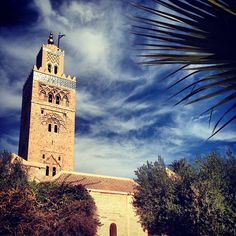 Stunning minaret on a mosque in #Morocco. #Travel #Architecture