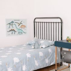 Make your child's bedroom roar to life 🦖  This modern, educational Dinosaur watercolour fabric poster decal has all the best dinosaurs covered 🦕 . . . . #dinosaur #dinosaurs #dinosaurwalldecor #dinosaurwallprints #dinosaurwallart #childsbedroomideas #childrensbedroomstyling #educationalwalldecals #fabricwalldecals #fabricwalldecal #fabricwalldecor #walldecals #walldecal #children #kids #childrensbedroomdecor #interiordesignideas #wondermadefabricwalldecals #reusable #remova