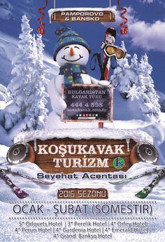 Bulgaristan - Pamporovo & Bansko 2016 Kayak Turları Reklam Banner
