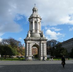 Trinity College - Dublin Trinity College Dublin, San Francisco Ferry, Around The Worlds, Dreams, Building, Travel, Viajes, Buildings, Destinations