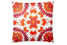 Delphi 20x20 Outdoor Pillow, Red on OneKingsLane.com