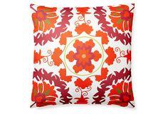 Delphi 20x20 Outdoor Pillow, Red on OneKingsLane.com