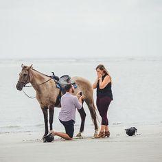 Horseback riding beach proposal | Seabrook Island, SC | Charleston, SC husband & wife proposal photographers, @billiejojeremy. . . . #beachproposal #southernengagement #proposal #beach #charlestonbride #searbrookisland #charlestonengagement #engaged #charlestonweddingphotographer #billiejoandjeremy #lowcountry #seabrookisland #marshtacky