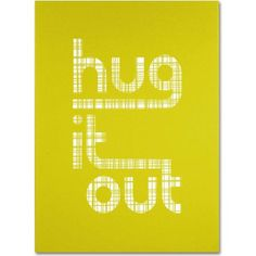 Trademark Fine Art Hug it Out Canvas Art by Megan Romo, Size: 18 x 24, Multicolor