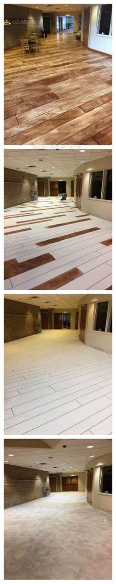 Basement Renovation Ideas to Transform the Basement Into a Fun Space Rapid City/ South Dakota/ Concrete Wood/ Concrete Staining/ Concrete Overlay/ CommercialRapid City/ South Dakota/ Concrete Wood/ Concrete Staining/ Concrete Overlay/ Commercial Concrete Wood Floor, Concrete Staining, Stained Concrete, Concrete Overlay, Epoxy Floor, Rapid City South Dakota, Basement Flooring, Basement Remodeling, Basement Ideas