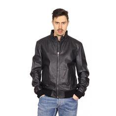 Dolce & Gabbana mens leather jacket G9EN2L FUL3A N0000