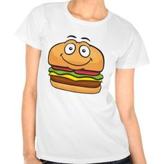 Hamburger Emoji Tee Shirt