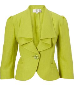 CC - Waterfall Linen Jacket