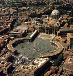 Piazza San Pietro - 1656-1667, Gian Lorenzo Bernini