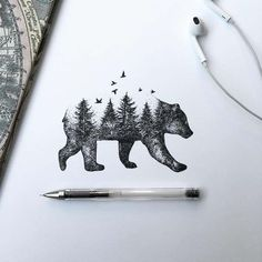 Wonderful Black Pen Illustrations                                                                                                                                                                                 More