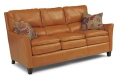 Flexsteel Furniture: Leather Sofas: TangoLeather Sofa (1711-31)