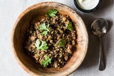 Crispy Lentils with Ground Lamb Recipe on Food52 recipe on Food52